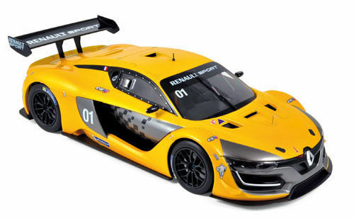 NOREV 1:18 AUTO DIE CAST RENAULT R.S.01 2015 OFFICIAL YELLOW GIALLO ART 185135 | Le Moins Cher
