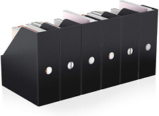 Magazine File Holder Actfaith Plastic Rack Desk Organizer Storage Box Book Bins