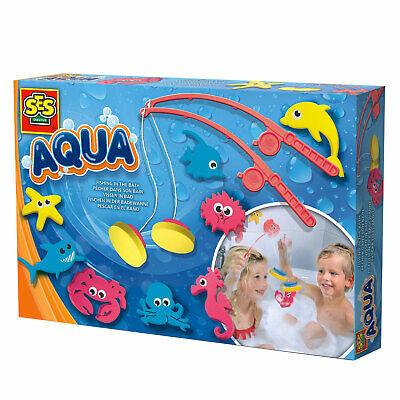SES Angeln in der Badewanne Angelspiel Fische Kinder Spiel