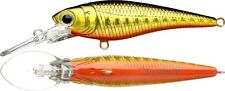 LUCKY CRAFT Bevy Shad 50SP - 236BGR ~Black & Gold & Red~