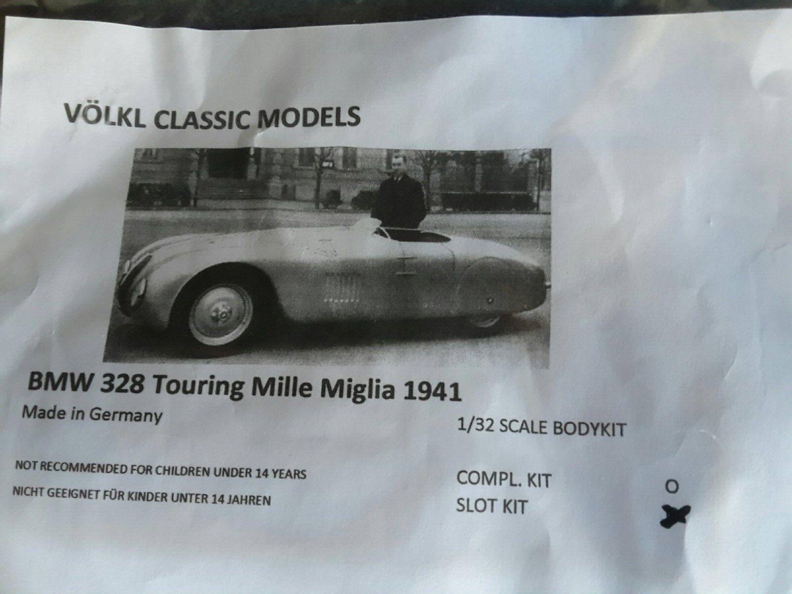 1 32 Vmc BMW 328 Touring Mille Miglia 1941 Gfk Slot Kit Nuovo