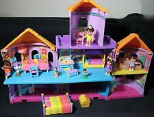 DORA THE EXPLORER MAGICAL CASTLE DOLLHOUSE PLAYSET WITH FIGURES & FURNITURES