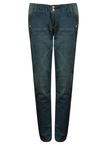 Ladies Janina Jeans Denim Sizes 12-26 Womens Plus Size New Skinny Loose