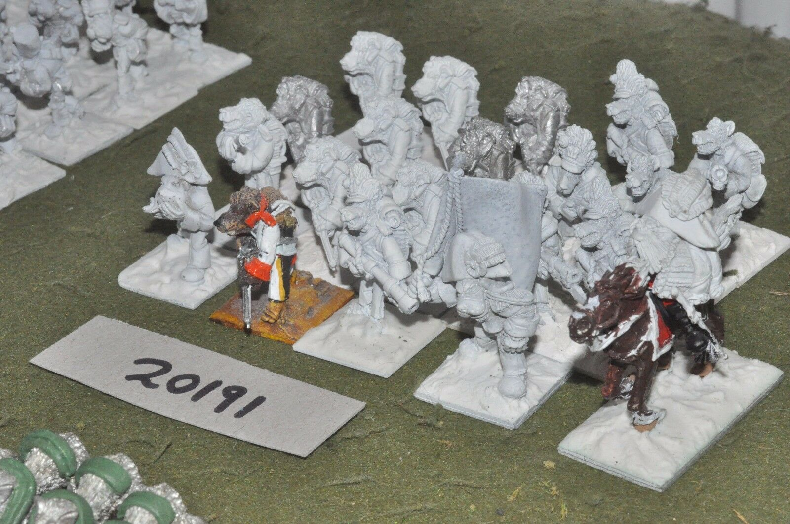 28mm flintloque fantasy Ostarian Grenadiers unpainted 20 figures {16}(20191)