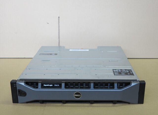 Charmant Dell EqualLogic PS6110X Virtualized ISCSI San Storage Array 24 X 500gb SAS  12tb