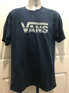 7cc1f56662d0d9 VANS OFF THE WALL MENS BLANKETED TEE LARGE NWT VN0A3AET4Z1 ...