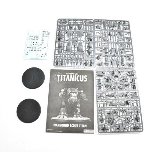 ADEPTUS TITANICUS 2 warhound scout titan NEW citadel warhammer