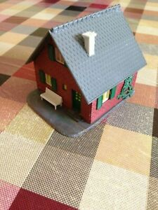 1-87-Plastic-HO-Scale-House-Building