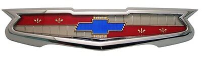 1955 Chevy Belair 210 150 Trunk Emblem Assembly