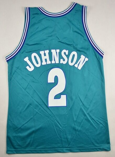 Champion CHARLOTTE HORNETSJOHNSON NBA CHAMPION SHIRT 44 Shirt Jersey Kit