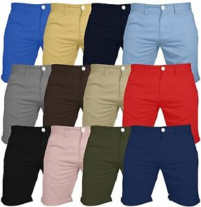 Mens-Chino-Shorts-Casual-100-Cotton-Cargo-Combat-Half-Pant-Summer-Jeans-New