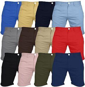 Chino-Pantalones-Informales-Para-hombres-100-Algodon-Cargo-Combat-Jeans-Verano-Pantalon-Medio-Nuevo