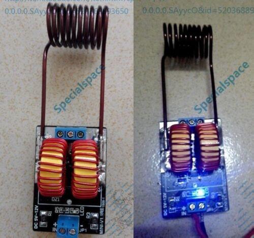 5 v ~ 12 v ZVS induction heating power supply module tesla Jacob/'s ladder coil