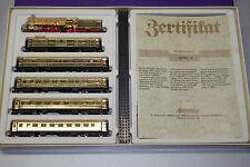 Arnold 0167 Jubiliäums-Sonderzug Rheingold vergoldet Dampflok Baureihe 18 Spur N