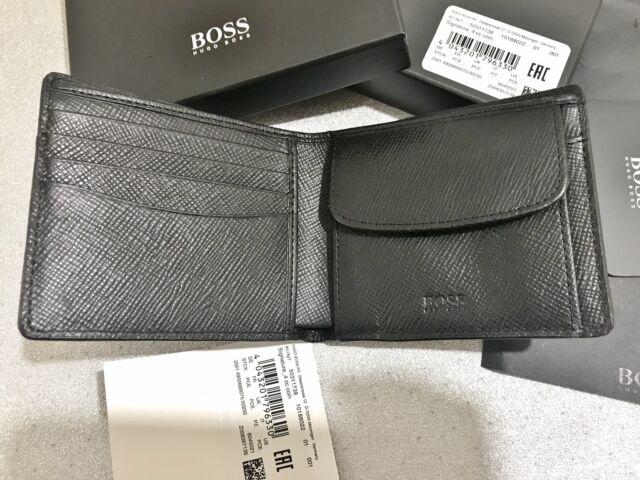 7e142921b9 NEW HUGO BOSS WALLET 'SIGNATURE_4CC' '50311738' BI FOLD BLACK GIFT ...