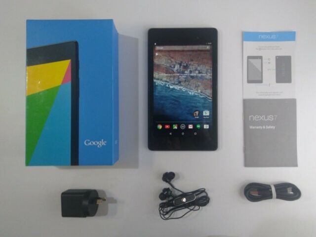 """7"""" ASUS Google Nexus 7 2013 (2nd Gen) 16GB Android 6.0 Wi-Fi Tablet"""