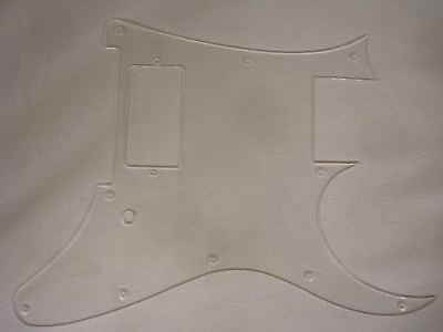 tm Clear Pickguard fits Ibanez GMC Jem RG FP DNA MC