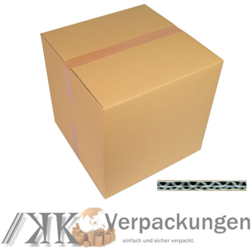 10 DHL Karton 500 x 500 x 500 mm Versandschachtel Faltkartons Paket 2 wellig