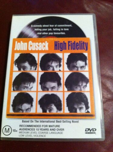 1 of 1 - High Fidelity (DVD, 2002) With John Cusack