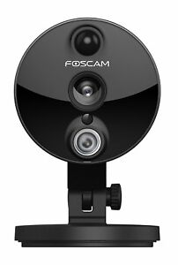 Foscam-C2-1080P-Mini-Wireless-Cube-IP-Camera-Wide-Viewing-Angle-Security-Black