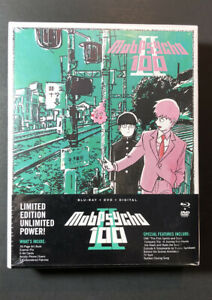 Mob-Psycho-100-II-the-Complete-Series-Limited-Edition-Blu-ray-DVD-NEW