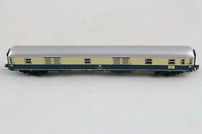 8722 Treno Rapido Bagagli Carrello Blu/beige Märklin Mini-club Traccia Z + + Top-mostra Il Titolo Originale Modelli Alla Moda