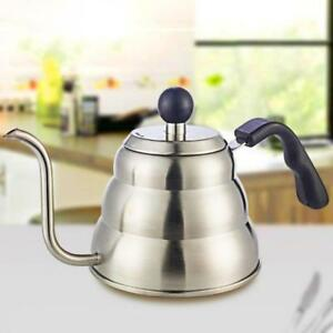 Coffee-Maker-Kettle-Stainless-Steel-Teapot-Heater-Stove-Boiler-Tea-Drip-Pot-Tool