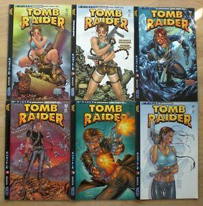 LARA CROFT Tomb Raider e-comics Sammlung 1 2 3 4 6 7 Großformat 2000 Top Cow dt.