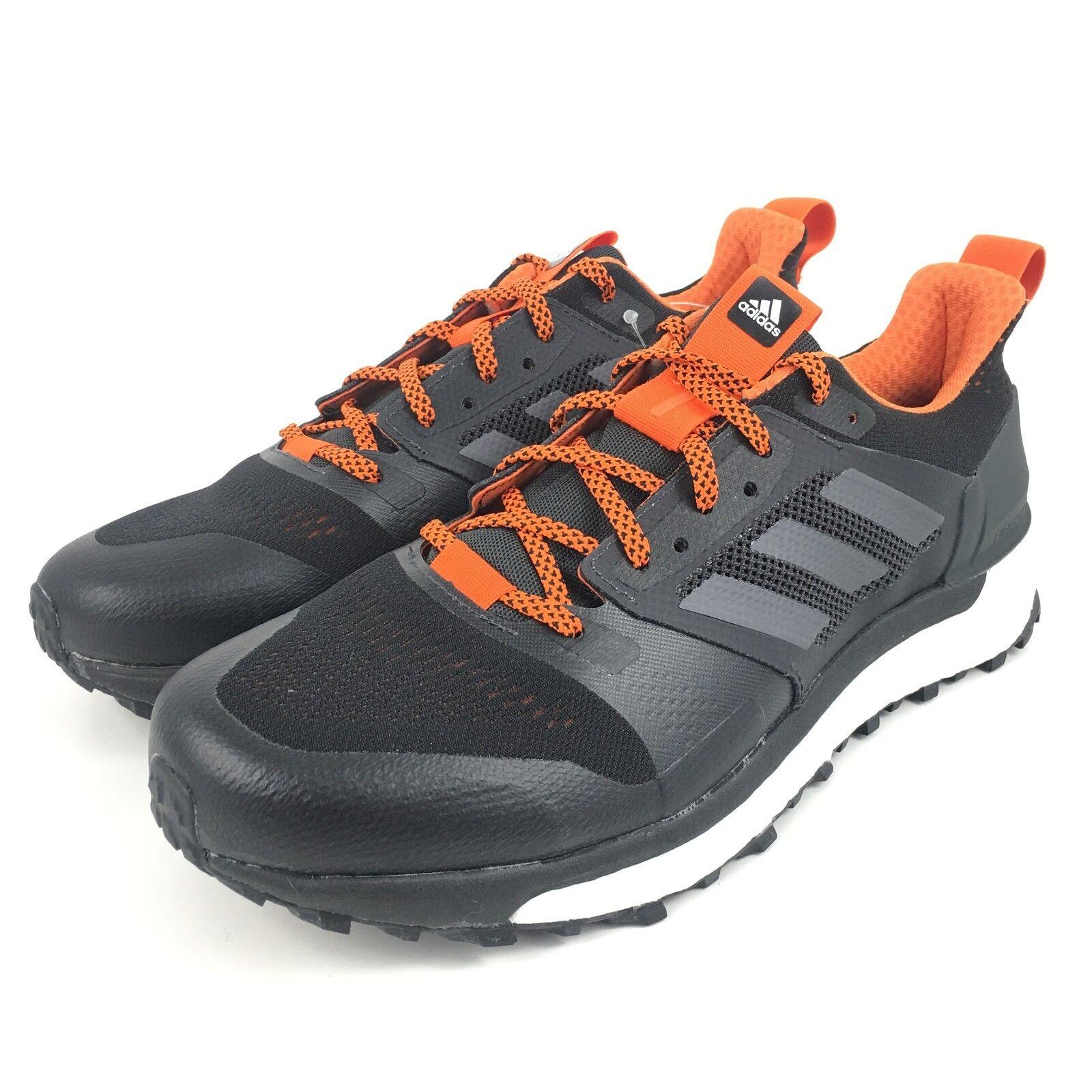 ac9c161ba6867 Adidas Supernova Boost Trail Running Running Running shoes Black Carbon Mens  Size 8 CG4025 6e0084