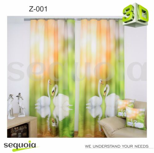 3D Curtain Sets Effect Photo Exclusive Curtains Living Room Best Gift ✅ ❤️❤️❤️