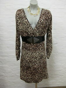 Dress l Stretch Sleeve m Gr Sarah Kern Jurk Beautiful Animal PatternBatwing dBCxoe