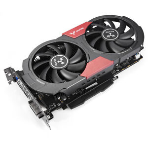Colorful GeForce GTX1050Ti Gaming Graphics Card 128bit DDR5 6Pin with Cooler Fan