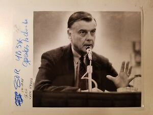 Details about Glossy Press Photo Boston MA News Anchor Jack Hynes 1 12/18/85