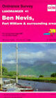 Landranger Maps: Sheet 41: Ben Nevis, Fort William and Surrounding Area by Ordnance Survey (Sheet map, folded, 1992)