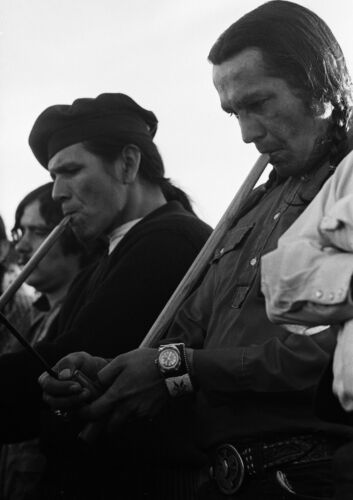 Dennis Banks Smoke Pipes Art Print POSTER Russell Means