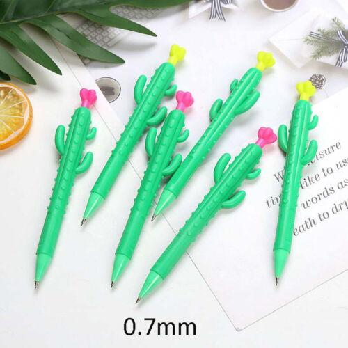 0.5//0.7mm Kawaii Cactus Carrot Corn Mechanical Pencil Automatic Drawing Pencil