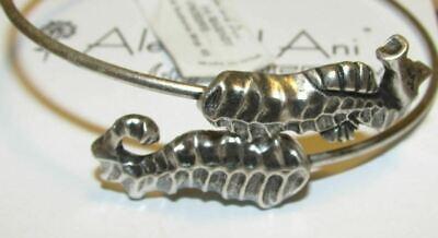 Alex and Ani Water Wrap Bangle Russian Silver Discontinued//Rare