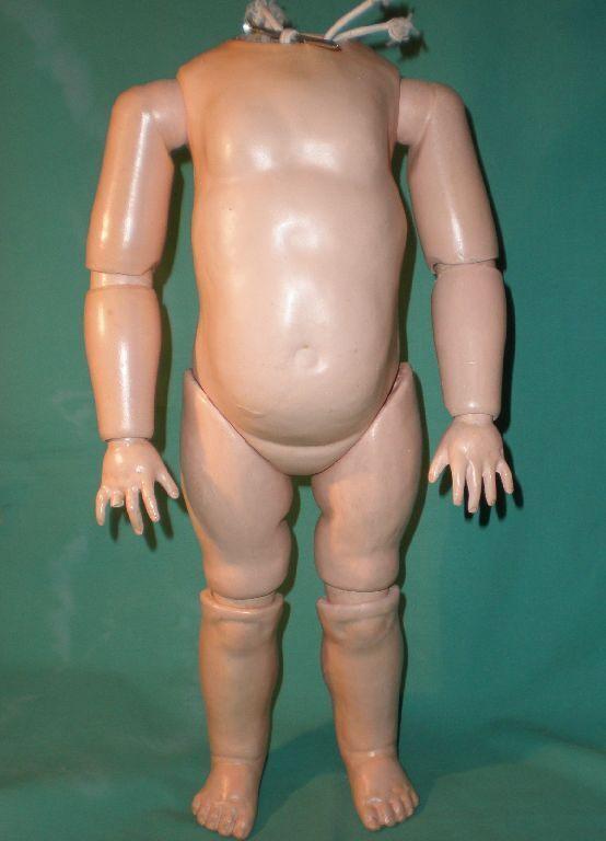 Composición antiguo cuerpo del niño, bola articulado, 18