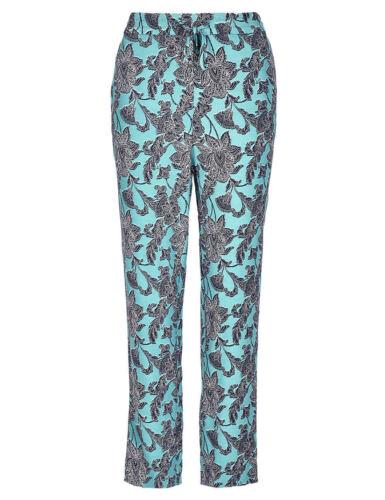 M/&S una Roma Blu Per Aumento Pantaloni Gamba Affusolata UK 10 12 14 16 REG corto lungo