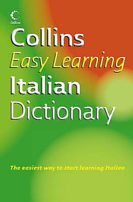 Collins Easy Learning - Collins Easy Learning Italian Dictionary (Easy Learning