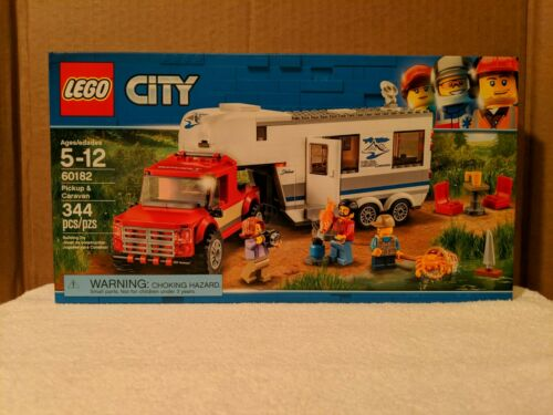 Pickup /& Caravan FREE SHIPPING!!!! NEW IN FACTORY SEALED BOX LEGO 60182; City