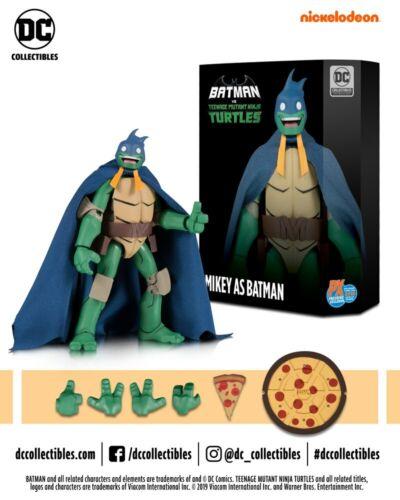 SDCC 2019 DC Teenage Mutant Ninja Turtles MICHAELANGELO AS BATMAN New!