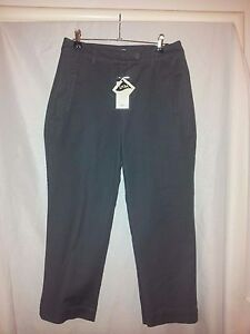 PJ-JEANS-N-Z-ladies-grey-cropped-pants-size-10-BNWT-RRP-169