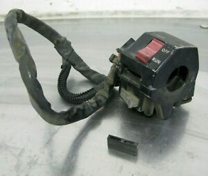 Yamaha-1990-FZR600-FZR-600-90-3HH-Canadian-OEM-Right-Handle-Bar-Switch-MODIFIED