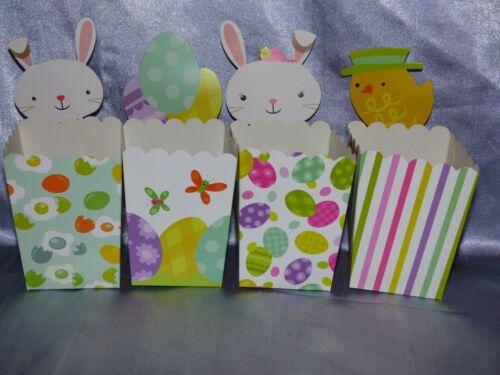 4 scatole regalo Pasquale Make Your Own PASQUA scatola fai da te Craft Kids Play divertente cartone