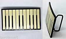 New Cream Black Keyboard Piano Belt Buckle Yamaha Music Intrument Buckles