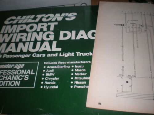 1989 STERLING 825 MODELS WIRING DIAGRAMS SCHEMATICS MANUAL SHEETS SET