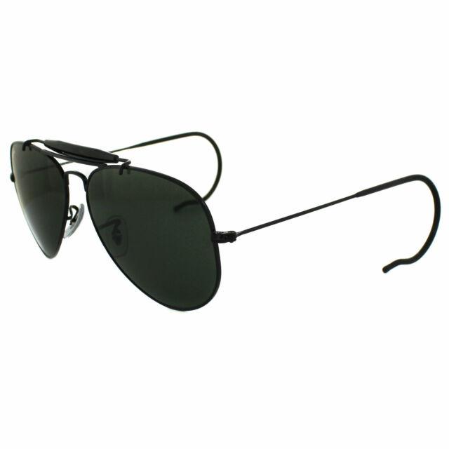 e249c3ed7 Ray-Ban Sunglasses Outdoorsman 3030 L9500 Black Green for sale ...