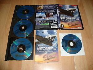 MICROSOFT-FLIGHT-SIMULATOR-2004-CIEN-ANOS-DE-AVIACION-PARA-PC-USADO-COMPLETO