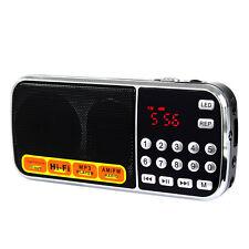 disco USB FM / AM Radio Lettore MP3 Multimedia Speaker della torcia elettrica